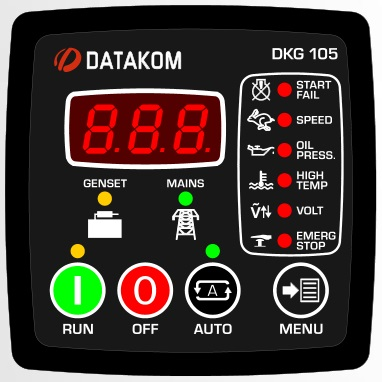 New version of the controller Datakom DKG-105