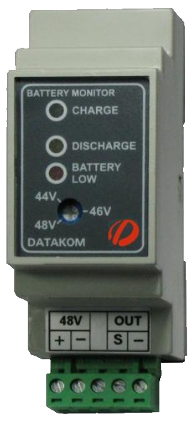 DATAKOM DKG-181 Battery voltage monitor #controller, 12V.